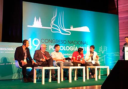 Conferencia de Víctor Arango en el grado de podología de la ucm
